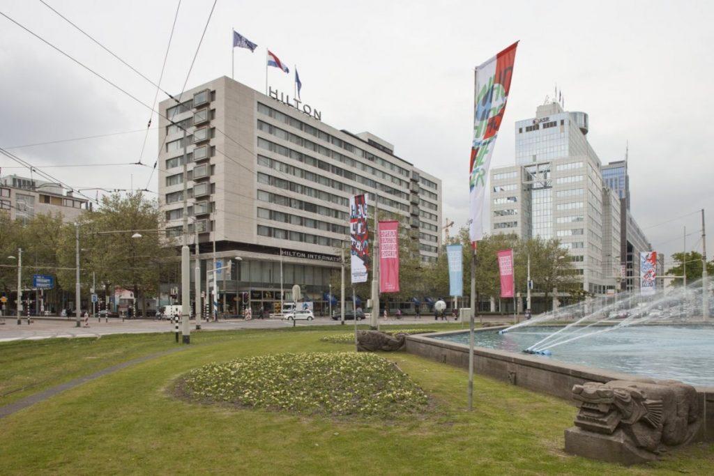 Hilton hotel Hofplein rotterdam 26deco architecture